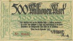 500 Millions Mark ALLEMAGNE Trier - Trèves 1923  pr.SUP