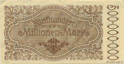 500 Millions Mark ALLEMAGNE  1923  pr.NEUF