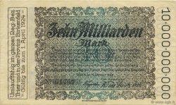 10 Milliards Mark ALLEMAGNE Trier - Trèves 1923  SPL