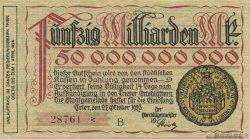 50 Milliards Mark ALLEMAGNE  1923  SPL