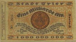 1 Milliard Mark ALLEMAGNE  1923  SUP