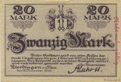 20 Mark ALLEMAGNE Uerdingen 1918  SUP