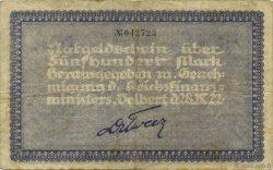 500 Mark ALLEMAGNE Velbert 1922  TB+