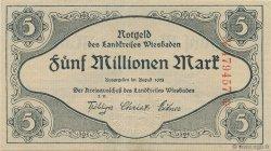 5 Millions Mark ALLEMAGNE  1923  SPL