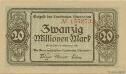 20 Millions Mark ALLEMAGNE  1923  SUP+