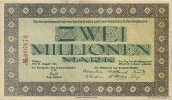 2 Millions Mark ALLEMAGNE  1923  SUP
