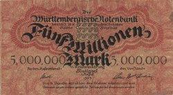 5 Millions Mark ALLEMAGNE  1923 PS.0988 TTB