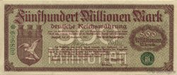 500 Million Mark ALLEMAGNE Zoppot 1923  TTB+