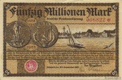 50 Million Mark ALLEMAGNE Zoppot 1923  SUP