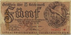 5 Reichsmark ALLEMAGNE Heidenheim 1945  TB