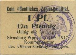 1 Pfennig ALLEMAGNE Strasbourg 1917  SPL