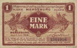 1 Mark ALLEMAGNE Merseburg 1918  TTB