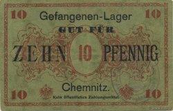 10 Pfennig ALLEMAGNE Chemnitz 1916  TTB