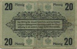 20 Pfennig ALLEMAGNE  1916  TB+