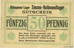 50 Pfennig ALLEMAGNE  1916  TTB