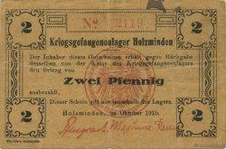 2 Pfennig ALLEMAGNE Holzminden 1915  TB+