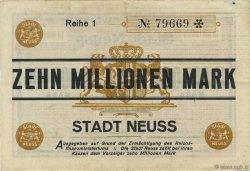 10 Millions Mark ALLEMAGNE Neuss 1923  TTB