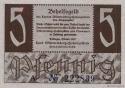 5 Pfennig ALLEMAGNE  1947 PS. SPL