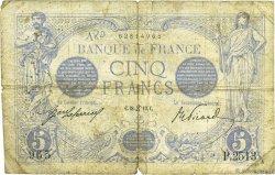 5 Francs BLEU FRANCE  1913 F.02.18 B