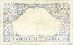 5 Francs BLEU FRANCE  1915 F.02.27 B+