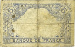 5 Francs BLEU FRANCE  1915 F.02.30 B