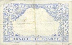 5 Francs BLEU FRANCE  1915 F.02.30 TTB+