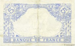 5 Francs BLEU FRANCE  1915 F.02.31 pr.SUP