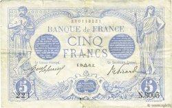 5 Francs BLEU FRANCE  1915 F.02.31 TB+