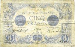 5 Francs BLEU FRANCE  1916 F.02.38 pr.TTB