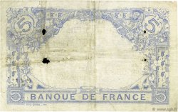 5 Francs BLEU FRANCE  1916 F.02.44 B à TB