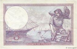 5 Francs VIOLET FRANCE  1926 F.03.10 SUP