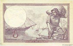 5 Francs VIOLET FRANCE  1932 F.03.16 SUP