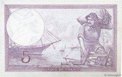 5 Francs VIOLET modifié FRANCE  1939 F.04.04 SPL