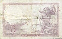 5 Francs VIOLET modifié FRANCE  1939 F.04.07 TB+