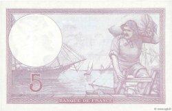 5 Francs VIOLET modifié FRANCE  1940 F.04.17 SPL+
