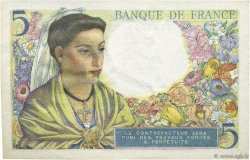 5 Francs BERGER FRANCE  1943 F.05.01 SUP