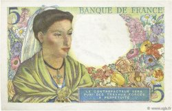 5 Francs BERGER FRANCE  1943 F.05.02 SPL