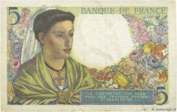 5 Francs BERGER FRANCE  1943 F.05.02 SUP