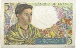 5 Francs BERGER FRANCE  1943 F.05.03 SUP+