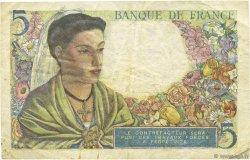 5 Francs BERGER FRANCE  1943 F.05.04 TTB