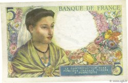 5 Francs BERGER FRANCE  1943 F.05.04 SUP+