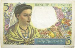 5 Francs BERGER FRANCE  1947 F.05.07 SUP