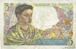 5 Francs BERGER FRANCE  1947 F.05.07a TTB