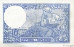 10 Francs MINERVE FRANCE  1916 F.06.01 pr.SUP