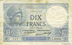10 Francs MINERVE FRANCE  1926 F.06.11 TB
