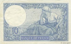 10 Francs MINERVE FRANCE  1927 F.06.12 pr.SUP