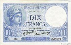 10 Francs MINERVE FRANCE  1931 F.06.15 SUP+