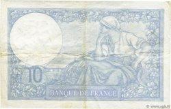 10 Francs MINERVE modifié FRANCE  1939 F.07.02