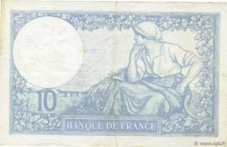 10 Francs MINERVE modifié FRANCE  1939 F.07.02 TTB