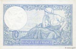 10 Francs MINERVE modifié FRANCE  1939 F.07.04 SUP+